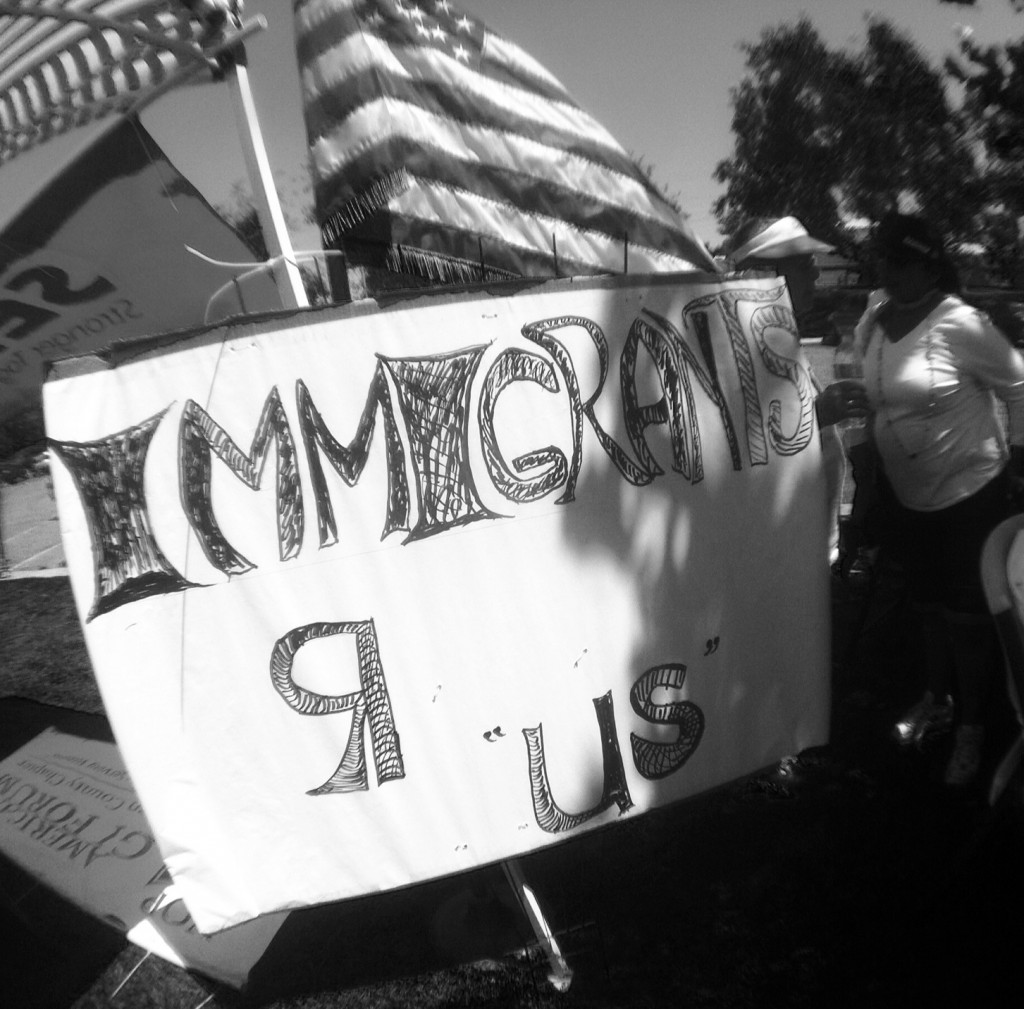 Conversation With An Immigration Reform Protestor